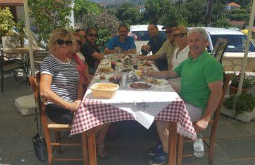 Traditional Cretan Lunch