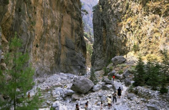 Samaria Gorge Hiking Tour