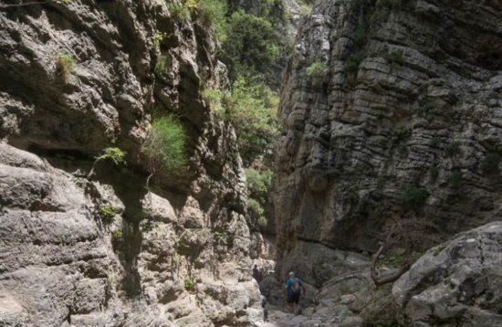 Tour of Impros Gorge