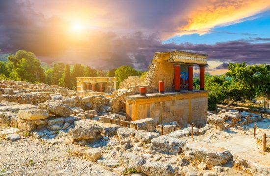 Tour of Knossos palace